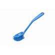 Brosse à vaisselle fibres médium alimentaire PLP 28cm bleu photo du produit