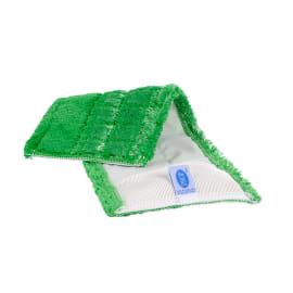 Bandeau de lavage microfibre Ultimate duo vert 43 x 14 cm à poches photo du produit