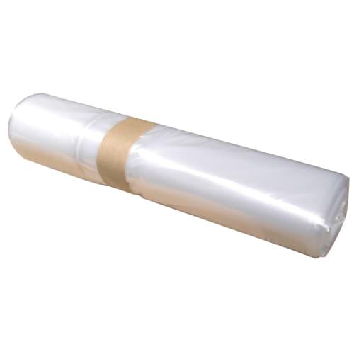 Sac plastique PE BD 110L transparent 40µm photo du produit
