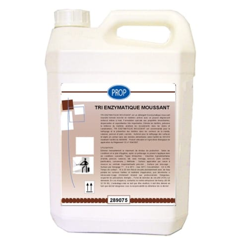 PROP Tri enzymatique moussant bidon de 5L photo du produit