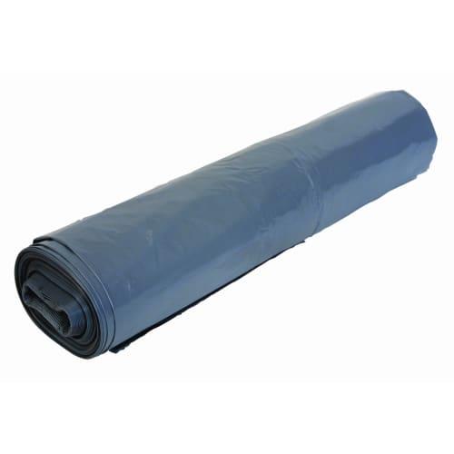 Housse plastique PE BD 240L noir 25µm photo du produit