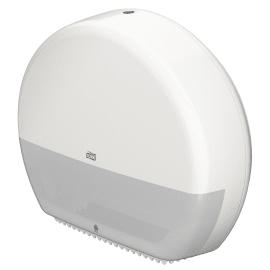 Distributeur de papier toilette blanc pour rouleaux géant T1 photo du produit