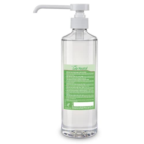 Lola neutral écologique lotion lavante certifiée Ecolabel flacon pompe de 500ml photo du produit