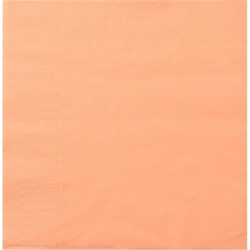 Serviette papier 2 plis 39 x 39 cm mandarine photo du produit