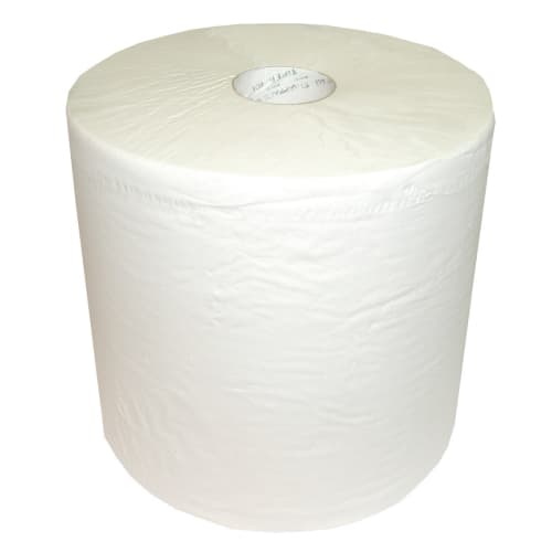 Bobine d essuyage blanche 2 plis 1000 formats 26 x 35 cm photo du produit