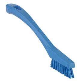 Mini brosse fibres dures alimentaire PLP 20,5cm bleu photo du produit