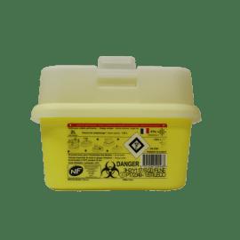 Collecteur boîte à aiguilles DASRI 2L Essentia+ NF X photo du produit