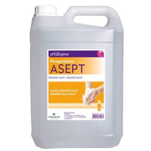 Phago Derm Asept lotion désinfectante bidon de 5L photo du produit
