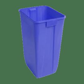 Fût plastique bleu 60L Vat 5 photo du produit