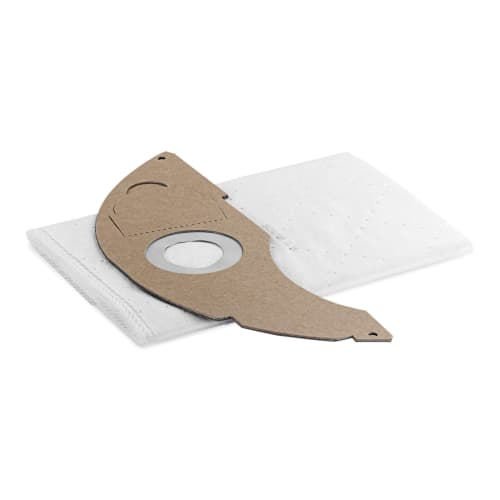 Sac filtrant non tissé papier toison 5ST indéchirable pour aspirateurs eau et poussière Karcher photo du produit