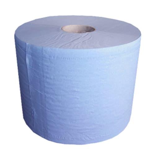 Bobine essuyage bleue 3 plis 1000 formats 35 x 37 cm photo du produit