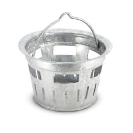 Seau inox pare-boue pour nettoyeurs haute pression Karcher photo du produit