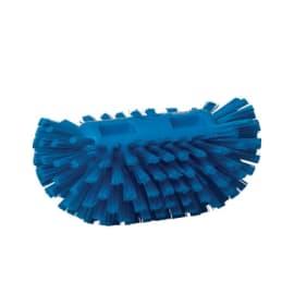 Brosse à cuve fibres dures alimentaire PLP 20,5cm bleu photo du produit