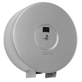 Distributeur de papier toilette Stella 400m gris métal photo du produit