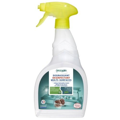ENZYPIN dégraissant désinfectant multi-surfaces certifié ECOCERT pulvérisateur de 750ml photo du produit