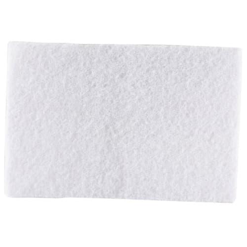 Tampon abrasif blanc 23 x 15 cm photo du produit
