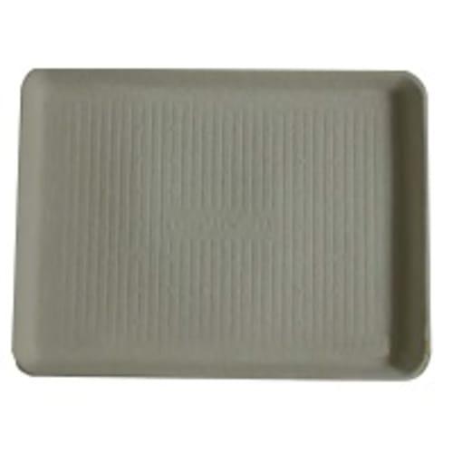 Plateau de soins gris en carton très grande taille photo du produit