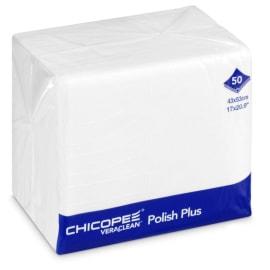 Essuyage non tissé Veraclean polish plus blanc 43 x 53 cm photo du produit