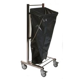 Chariot support moyens et grands sacs inox photo du produit