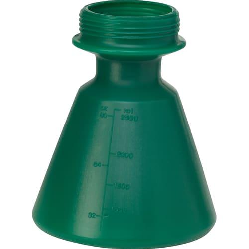 Grand réservoir PEHD 2,5L vert photo du produit
