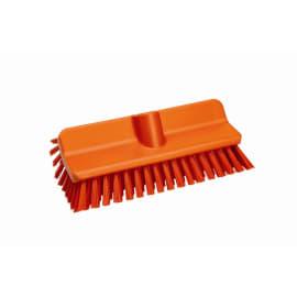 Balai lave-pont fibres médium alimentaire PLP 26,5cm orange photo du produit