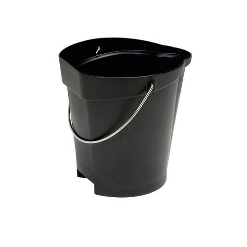 Seau gradué alimentaire PLP 12L noir photo du produit