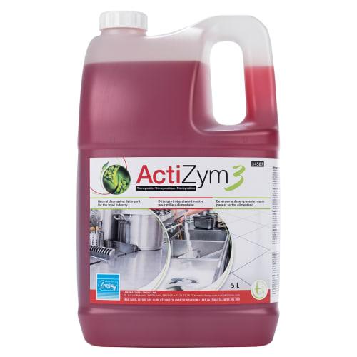 CHOISY Actizym3 détergent dégraissant bidon de 5L photo du produit