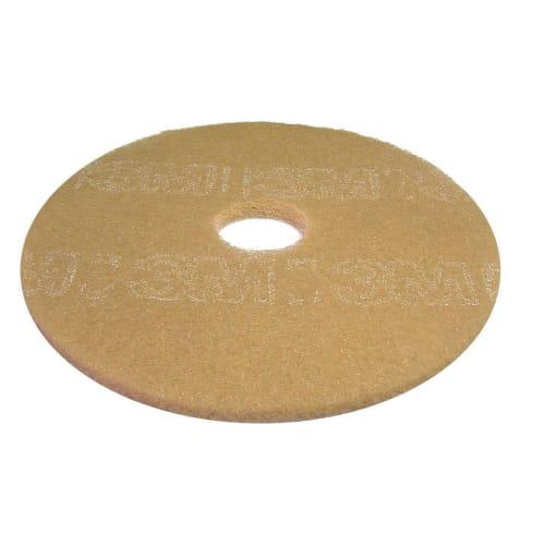 Disque beige 3M pour autolaveuse et monobrosse Ø406mm photo du produit