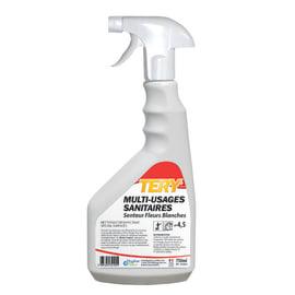 Tery nettoyant multi-usages sanitaires pulvérisateur de 750ml photo du produit