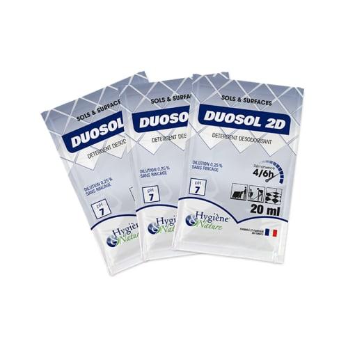 Duosol 2D pamplemousse détergent désodorisant doses de 20ml photo du produit