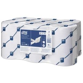 Essuie-mains rouleau blanc 2 plis laize 24,7cm certifié Ecolabel photo du produit