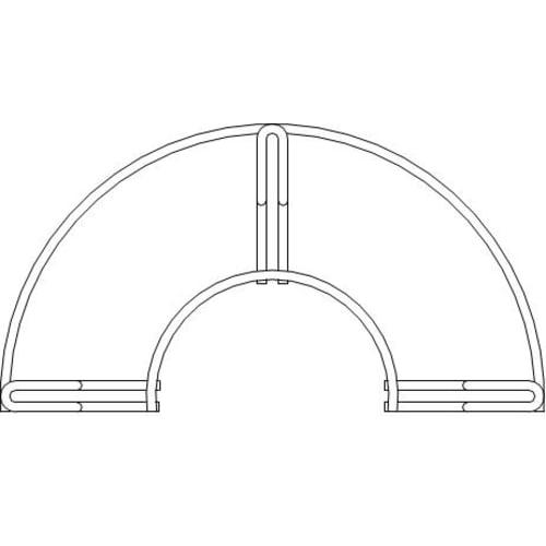 Support grand modèle pour tuyaux de 20m photo du produit