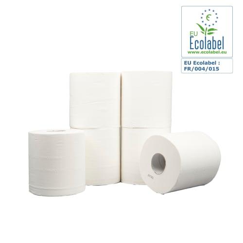Essuyage dévidage central blanc 2 plis 450 formats 20 x 35 cm photo du produit