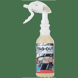 CHOISY Tag-out nettoyant graffitis pulvérisateur de 750ml photo du produit
