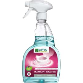 LE VRAI PROFESSIONNEL odorisant toilettes pulvérisateur de 750ml photo du produit