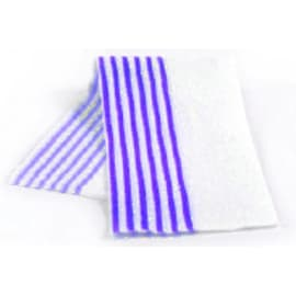Bandeau microfibre Ultimate Dispomop lignée bleu 50 x 11,5 cm photo du produit