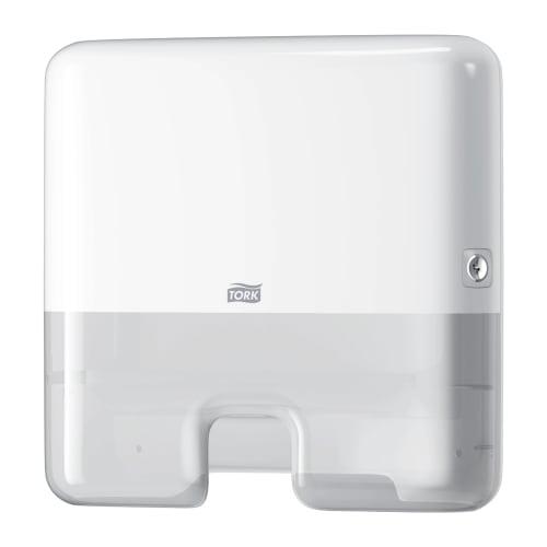 Distributeur d essuie-mains pliés blanc H2 mini photo du produit