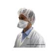Masque de protection respiratoire FFP2 NR blanc EN149 :2009 photo du produit Back View S