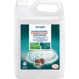 ENZYPIN dégraissant désinfectant concentré certifié ECOCERT bidon de 5L photo du produit