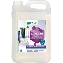 LE VRAI PROFESSIONNEL Clean Safe nettoyant odorisant concentré bidon de 5L photo du produit