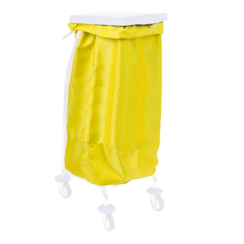 Sac à linge 65L 170g/m² jaune photo du produit