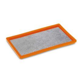 Filtre plat métal perforé pour aspirateurs eau et poussière Karcher photo du produit