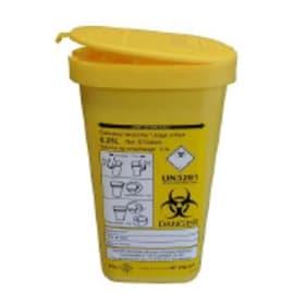 Collecteur boîte à aiguilles DASRI 0,25L NF X photo du produit