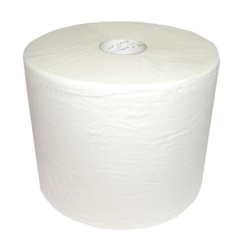 Bobine d essuyage blanche 2 plis 600 formats 24 x 32 cm photo du produit