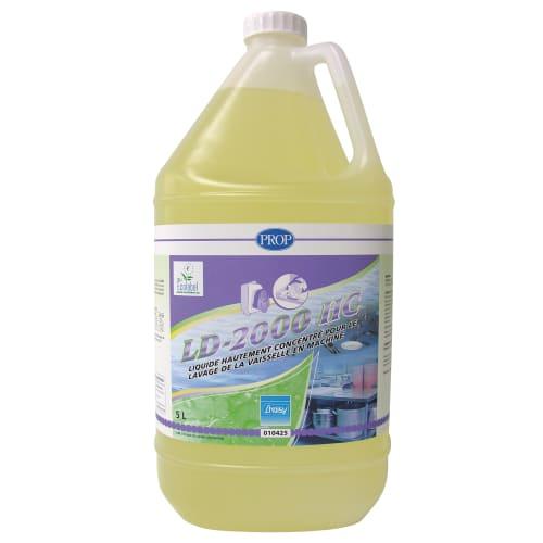 PROP LD-2000HC liquide plonge certifié Ecolabel bidon de 5L photo du produit