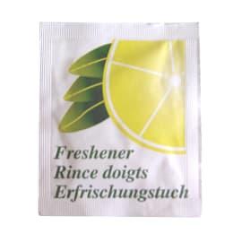 Rince doigts parfum citron en sachet photo du produit