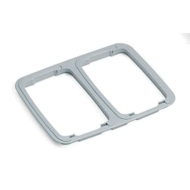 Insert support sac 2x60L PLP gris photo du produit