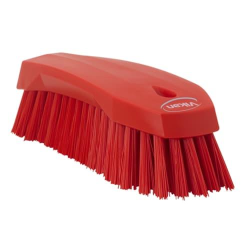 Brosse fibres dures alimentaire PLP 20cm rouge photo du produit