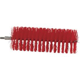 Tête d écouvillon fibres médium alimentaire Ø6cm 20cm rouge photo du produit