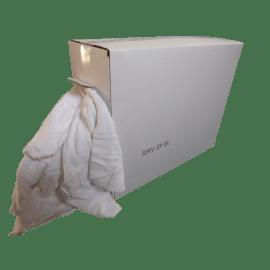 Essuyage blanc éponge 40 x 90 cm photo du produit